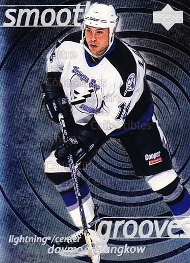 1997-98 Upper Deck Smooth Grooves #32 Daymond Langkow<br/>6 In Stock - $2.00 each - <a href=https://centericecollectibles.foxycart.com/cart?name=1997-98%20Upper%20Deck%20Smooth%20Grooves%20%2332%20Daymond%20Langkow...&quantity_max=6&price=$2.00&code=65310 class=foxycart> Buy it now! </a>