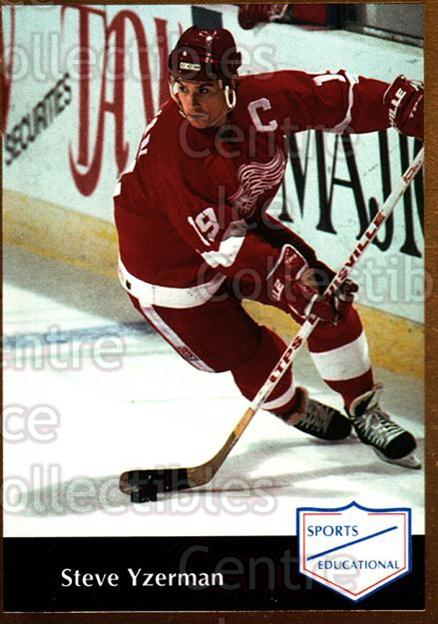 1991-92 Sports Educational #42 Steve Yzerman<br/>1 In Stock - $10.00 each - <a href=https://centericecollectibles.foxycart.com/cart?name=1991-92%20Sports%20Educational%20%2342%20Steve%20Yzerman...&quantity_max=1&price=$10.00&code=653618 class=foxycart> Buy it now! </a>