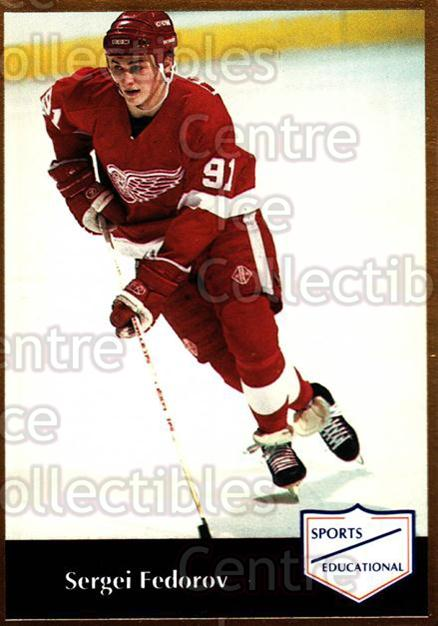 1991-92 Sports Educational #45 Sergei Fedorov<br/>3 In Stock - $3.00 each - <a href=https://centericecollectibles.foxycart.com/cart?name=1991-92%20Sports%20Educational%20%2345%20Sergei%20Fedorov...&quantity_max=3&price=$3.00&code=653621 class=foxycart> Buy it now! </a>