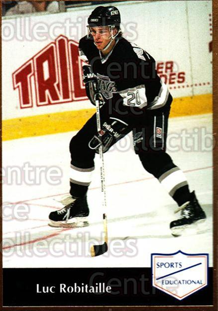 1991-92 Sports Educational #50 Luc Robitaille<br/>4 In Stock - $3.00 each - <a href=https://centericecollectibles.foxycart.com/cart?name=1991-92%20Sports%20Educational%20%2350%20Luc%20Robitaille...&quantity_max=4&price=$3.00&code=653626 class=foxycart> Buy it now! </a>