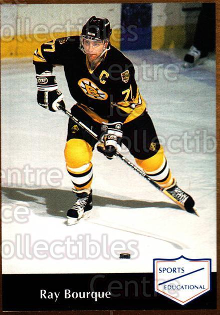 1991-92 Sports Educational #51 Ray Bourque<br/>2 In Stock - $3.00 each - <a href=https://centericecollectibles.foxycart.com/cart?name=1991-92%20Sports%20Educational%20%2351%20Ray%20Bourque...&quantity_max=2&price=$3.00&code=653627 class=foxycart> Buy it now! </a>