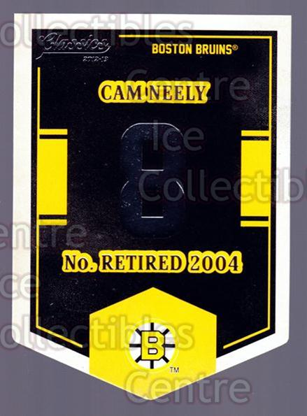 2012-13 Classics Signatures Banner Numbers #14 Cam Neely<br/>2 In Stock - $3.00 each - <a href=https://centericecollectibles.foxycart.com/cart?name=2012-13%20Classics%20Signatures%20Banner%20Numbers%20%2314%20Cam%20Neely...&quantity_max=2&price=$3.00&code=653930 class=foxycart> Buy it now! </a>