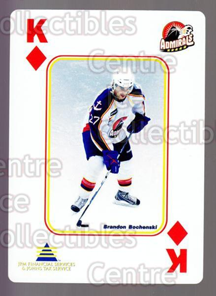 2009-10 Norfolk Admirals Playing Card #13 Brandon Bochenski<br/>2 In Stock - $3.00 each - <a href=https://centericecollectibles.foxycart.com/cart?name=2009-10%20Norfolk%20Admirals%20Playing%20Card%20%2313%20Brandon%20Bochens...&price=$3.00&code=654004 class=foxycart> Buy it now! </a>