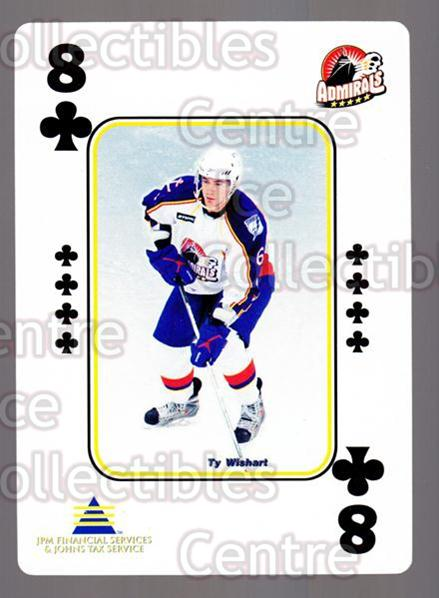 2009-10 Norfolk Admirals Playing Card #21 Ty Wishart<br/>1 In Stock - $3.00 each - <a href=https://centericecollectibles.foxycart.com/cart?name=2009-10%20Norfolk%20Admirals%20Playing%20Card%20%2321%20Ty%20Wishart...&price=$3.00&code=654012 class=foxycart> Buy it now! </a>
