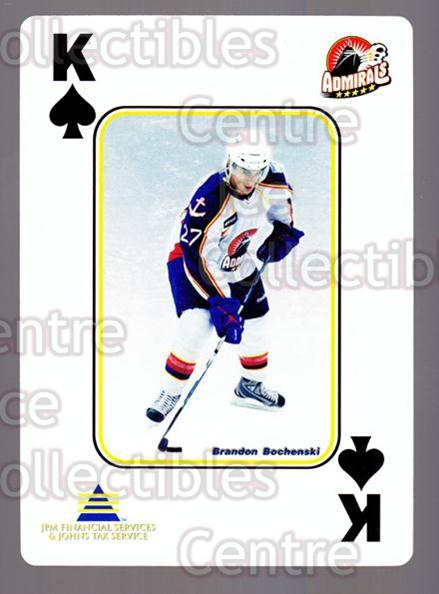 2009-10 Norfolk Admirals Playing Card #39 Brandon Bochenski<br/>2 In Stock - $3.00 each - <a href=https://centericecollectibles.foxycart.com/cart?name=2009-10%20Norfolk%20Admirals%20Playing%20Card%20%2339%20Brandon%20Bochens...&price=$3.00&code=654030 class=foxycart> Buy it now! </a>