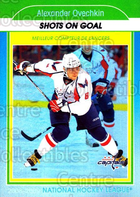 2009-10 O-Pee-Chee Stat Leaders #10 Alexander Ovechkin<br/>1 In Stock - $3.00 each - <a href=https://centericecollectibles.foxycart.com/cart?name=2009-10%20O-Pee-Chee%20Stat%20Leaders%20%2310%20Alexander%20Ovech...&price=$3.00&code=654134 class=foxycart> Buy it now! </a>