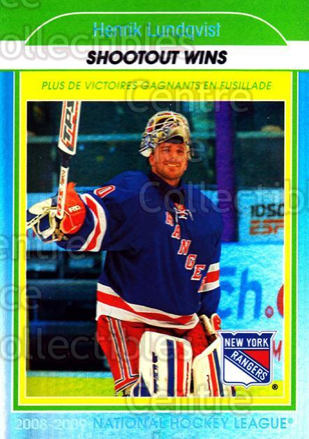 2009-10 O-Pee-Chee Stat Leaders #17 Henrik Lundqvist<br/>1 In Stock - $2.00 each - <a href=https://centericecollectibles.foxycart.com/cart?name=2009-10%20O-Pee-Chee%20Stat%20Leaders%20%2317%20Henrik%20Lundqvis...&price=$2.00&code=654141 class=foxycart> Buy it now! </a>