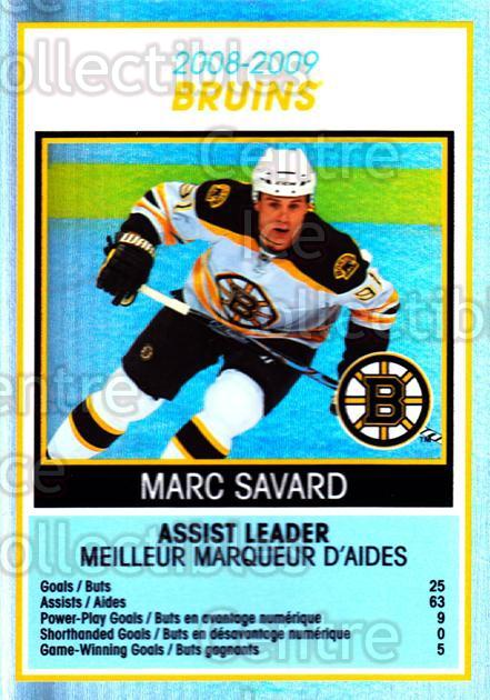 2009-10 O-Pee-Chee Team Checklists #3 Marc Savard<br/>1 In Stock - $2.00 each - <a href=https://centericecollectibles.foxycart.com/cart?name=2009-10%20O-Pee-Chee%20Team%20Checklists%20%233%20Marc%20Savard...&quantity_max=1&price=$2.00&code=654144 class=foxycart> Buy it now! </a>