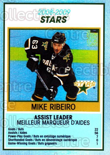 2009-10 O-Pee-Chee Team Checklists #10 Mike Ribeiro<br/>1 In Stock - $2.00 each - <a href=https://centericecollectibles.foxycart.com/cart?name=2009-10%20O-Pee-Chee%20Team%20Checklists%20%2310%20Mike%20Ribeiro...&quantity_max=1&price=$2.00&code=654151 class=foxycart> Buy it now! </a>