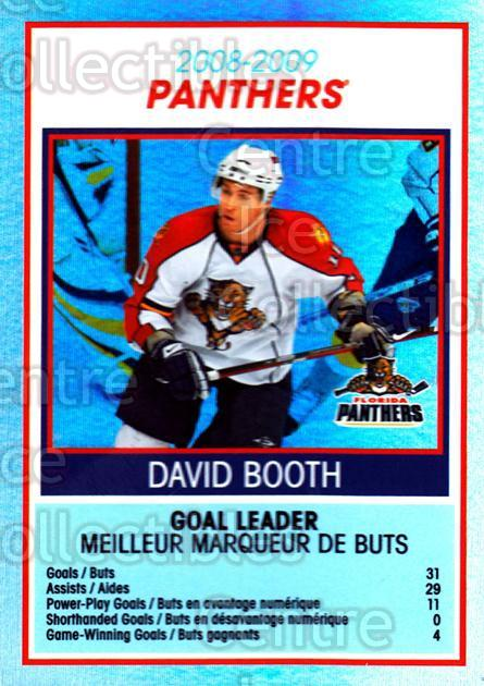 2009-10 O-Pee-Chee Team Checklists #13 David Booth<br/>1 In Stock - $2.00 each - <a href=https://centericecollectibles.foxycart.com/cart?name=2009-10%20O-Pee-Chee%20Team%20Checklists%20%2313%20David%20Booth...&quantity_max=1&price=$2.00&code=654154 class=foxycart> Buy it now! </a>