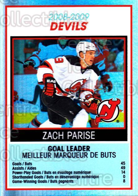 2009-10 O-Pee-Chee Team Checklists #18 Zach Parise<br/>1 In Stock - $2.00 each - <a href=https://centericecollectibles.foxycart.com/cart?name=2009-10%20O-Pee-Chee%20Team%20Checklists%20%2318%20Zach%20Parise...&quantity_max=1&price=$2.00&code=654159 class=foxycart> Buy it now! </a>
