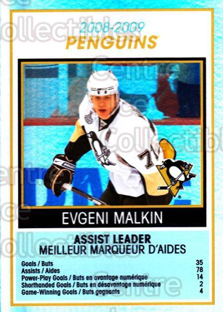 2009-10 O-Pee-Chee Team Checklists #24 Evgeni Malkin<br/>1 In Stock - $3.00 each - <a href=https://centericecollectibles.foxycart.com/cart?name=2009-10%20O-Pee-Chee%20Team%20Checklists%20%2324%20Evgeni%20Malkin...&quantity_max=1&price=$3.00&code=654165 class=foxycart> Buy it now! </a>