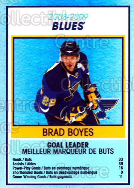 2009-10 O-Pee-Chee Team Checklists #26 Brad Boyes<br/>1 In Stock - $2.00 each - <a href=https://centericecollectibles.foxycart.com/cart?name=2009-10%20O-Pee-Chee%20Team%20Checklists%20%2326%20Brad%20Boyes...&quantity_max=1&price=$2.00&code=654167 class=foxycart> Buy it now! </a>