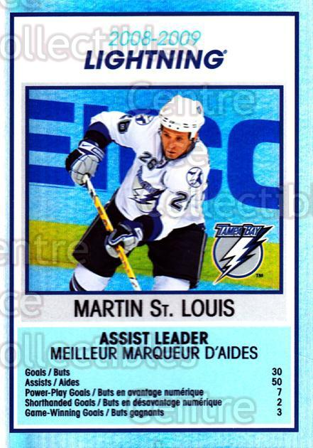 2009-10 O-Pee-Chee Team Checklists #27 Martin St. Louis<br/>1 In Stock - $2.00 each - <a href=https://centericecollectibles.foxycart.com/cart?name=2009-10%20O-Pee-Chee%20Team%20Checklists%20%2327%20Martin%20St.%20Loui...&quantity_max=1&price=$2.00&code=654168 class=foxycart> Buy it now! </a>