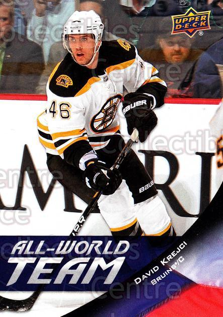 2011-12 Upper Deck All World Team #7 David Krejci<br/>1 In Stock - $2.00 each - <a href=https://centericecollectibles.foxycart.com/cart?name=2011-12%20Upper%20Deck%20All%20World%20Team%20%237%20David%20Krejci...&quantity_max=1&price=$2.00&code=654178 class=foxycart> Buy it now! </a>
