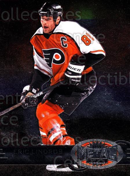2012-13 Fleer Retro Metal Universe #4 Eric Lindros<br/>1 In Stock - $3.00 each - <a href=https://centericecollectibles.foxycart.com/cart?name=2012-13%20Fleer%20Retro%20Metal%20Universe%20%234%20Eric%20Lindros...&quantity_max=1&price=$3.00&code=654274 class=foxycart> Buy it now! </a>