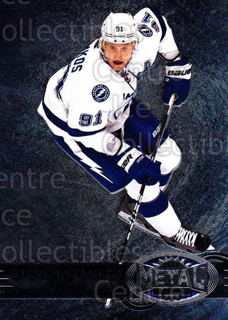 2012-13 Fleer Retro Metal Universe #17 Steven Stamkos<br/>2 In Stock - $3.00 each - <a href=https://centericecollectibles.foxycart.com/cart?name=2012-13%20Fleer%20Retro%20Metal%20Universe%20%2317%20Steven%20Stamkos...&price=$3.00&code=654287 class=foxycart> Buy it now! </a>