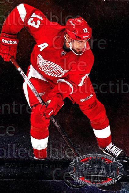 2012-13 Fleer Retro Metal Universe #19 Pavel Datsyuk<br/>1 In Stock - $3.00 each - <a href=https://centericecollectibles.foxycart.com/cart?name=2012-13%20Fleer%20Retro%20Metal%20Universe%20%2319%20Pavel%20Datsyuk...&quantity_max=1&price=$3.00&code=654289 class=foxycart> Buy it now! </a>