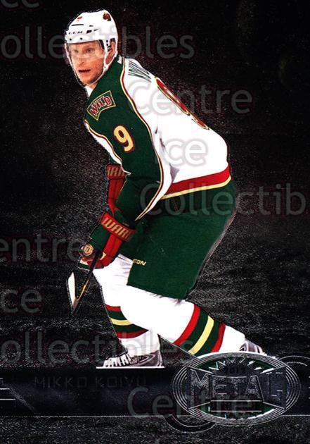 2012-13 Fleer Retro Metal Universe #22 Mikko Koivu<br/>2 In Stock - $3.00 each - <a href=https://centericecollectibles.foxycart.com/cart?name=2012-13%20Fleer%20Retro%20Metal%20Universe%20%2322%20Mikko%20Koivu...&quantity_max=2&price=$3.00&code=654292 class=foxycart> Buy it now! </a>