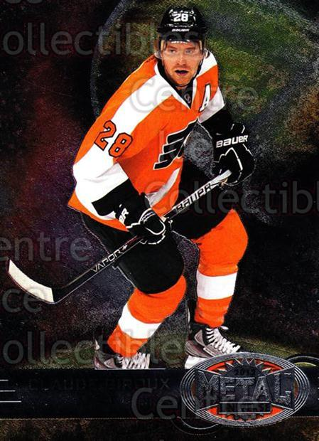 2012-13 Fleer Retro Metal Universe #38 Claude Giroux<br/>1 In Stock - $3.00 each - <a href=https://centericecollectibles.foxycart.com/cart?name=2012-13%20Fleer%20Retro%20Metal%20Universe%20%2338%20Claude%20Giroux...&quantity_max=1&price=$3.00&code=654308 class=foxycart> Buy it now! </a>