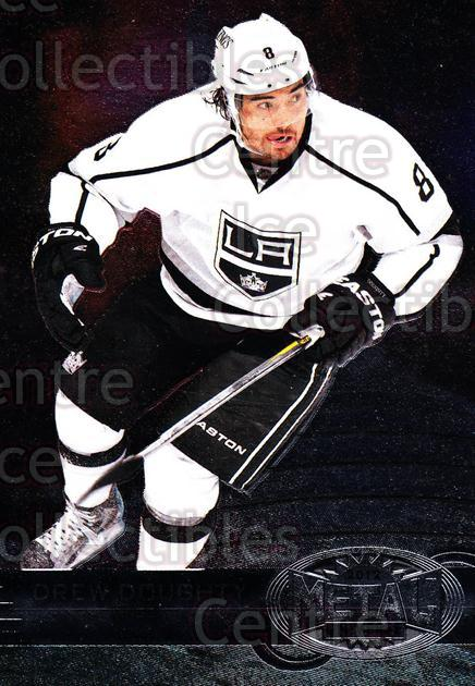 2012-13 Fleer Retro Metal Universe #47 Drew Doughty<br/>1 In Stock - $3.00 each - <a href=https://centericecollectibles.foxycart.com/cart?name=2012-13%20Fleer%20Retro%20Metal%20Universe%20%2347%20Drew%20Doughty...&quantity_max=1&price=$3.00&code=654317 class=foxycart> Buy it now! </a>
