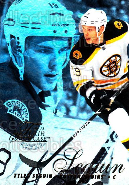 2012-13 Fleer Retro Flair Showcase Row 2 #44 Tyler Seguin<br/>1 In Stock - $3.00 each - <a href=https://centericecollectibles.foxycart.com/cart?name=2012-13%20Fleer%20Retro%20Flair%20Showcase%20Row%202%20%2344%20Tyler%20Seguin...&quantity_max=1&price=$3.00&code=654374 class=foxycart> Buy it now! </a>