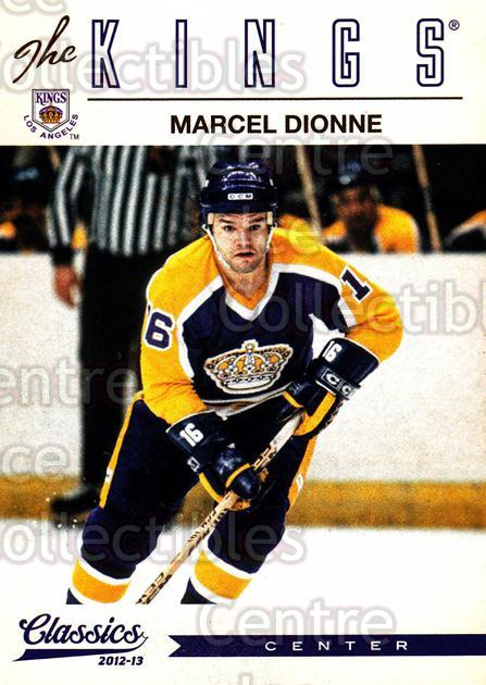 2012-13 Classics Signatures #11 Marcel Dionne<br/>3 In Stock - $2.00 each - <a href=https://centericecollectibles.foxycart.com/cart?name=2012-13%20Classics%20Signatures%20%2311%20Marcel%20Dionne...&quantity_max=3&price=$2.00&code=654391 class=foxycart> Buy it now! </a>