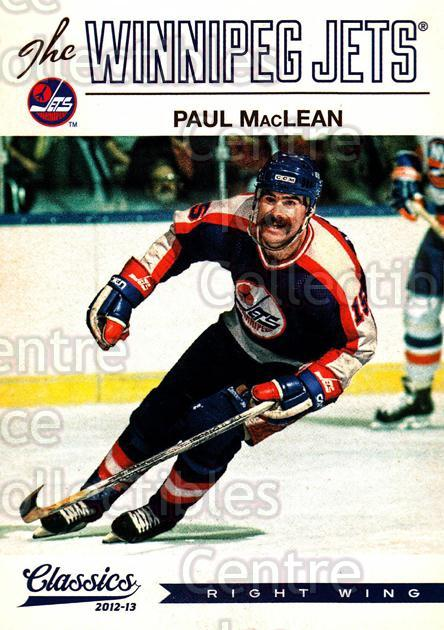 2012-13 Classics Signatures #44 Paul MacLean<br/>2 In Stock - $2.00 each - <a href=https://centericecollectibles.foxycart.com/cart?name=2012-13%20Classics%20Signatures%20%2344%20Paul%20MacLean...&quantity_max=2&price=$2.00&code=654424 class=foxycart> Buy it now! </a>