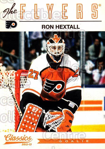2012-13 Classics Signatures #60 Ron Hextall<br/>1 In Stock - $2.00 each - <a href=https://centericecollectibles.foxycart.com/cart?name=2012-13%20Classics%20Signatures%20%2360%20Ron%20Hextall...&quantity_max=1&price=$2.00&code=654440 class=foxycart> Buy it now! </a>