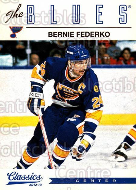 2012-13 Classics Signatures #88 Bernie Federko<br/>3 In Stock - $2.00 each - <a href=https://centericecollectibles.foxycart.com/cart?name=2012-13%20Classics%20Signatures%20%2388%20Bernie%20Federko...&quantity_max=3&price=$2.00&code=654468 class=foxycart> Buy it now! </a>