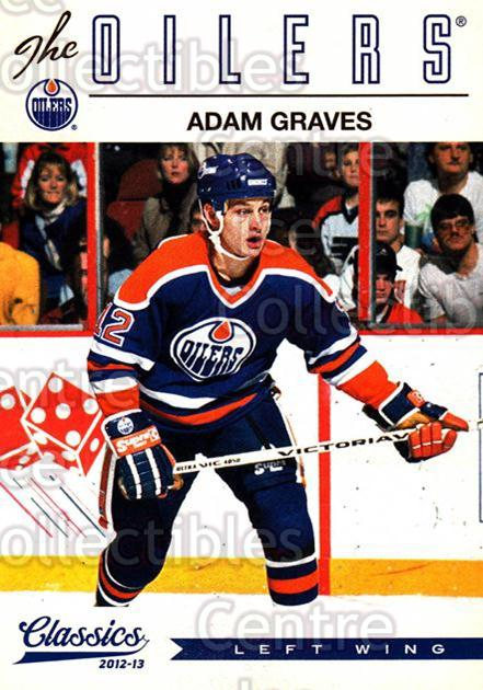 2012-13 Classics Signatures #98 Adam Graves<br/>2 In Stock - $2.00 each - <a href=https://centericecollectibles.foxycart.com/cart?name=2012-13%20Classics%20Signatures%20%2398%20Adam%20Graves...&quantity_max=2&price=$2.00&code=654478 class=foxycart> Buy it now! </a>