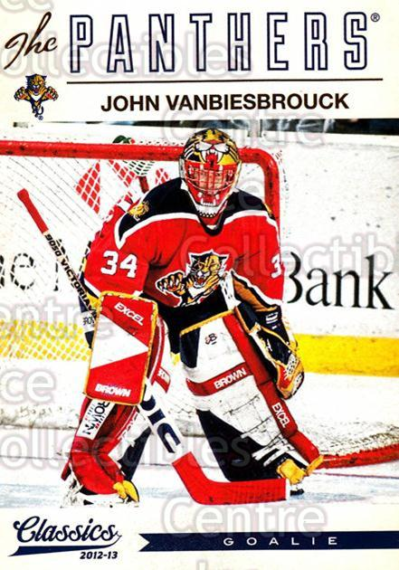 2012-13 Classics Signatures #106 John Vanbiesbrouck<br/>1 In Stock - $2.00 each - <a href=https://centericecollectibles.foxycart.com/cart?name=2012-13%20Classics%20Signatures%20%23106%20John%20Vanbiesbro...&quantity_max=1&price=$2.00&code=654486 class=foxycart> Buy it now! </a>