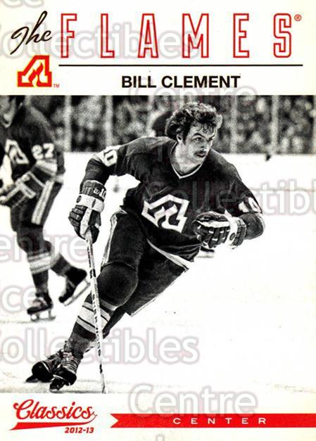 2012-13 Classics Signatures #123 Bill Clement<br/>3 In Stock - $2.00 each - <a href=https://centericecollectibles.foxycart.com/cart?name=2012-13%20Classics%20Signatures%20%23123%20Bill%20Clement...&quantity_max=3&price=$2.00&code=654503 class=foxycart> Buy it now! </a>