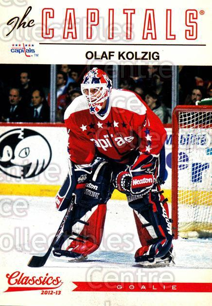 2012-13 Classics Signatures #126 Olaf Kolzig<br/>2 In Stock - $2.00 each - <a href=https://centericecollectibles.foxycart.com/cart?name=2012-13%20Classics%20Signatures%20%23126%20Olaf%20Kolzig...&quantity_max=2&price=$2.00&code=654506 class=foxycart> Buy it now! </a>