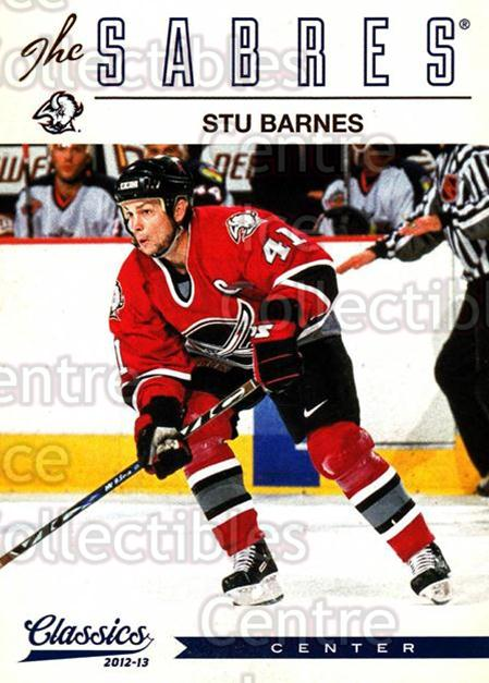 2012-13 Classics Signatures #130 Stu Barnes<br/>4 In Stock - $2.00 each - <a href=https://centericecollectibles.foxycart.com/cart?name=2012-13%20Classics%20Signatures%20%23130%20Stu%20Barnes...&quantity_max=4&price=$2.00&code=654510 class=foxycart> Buy it now! </a>