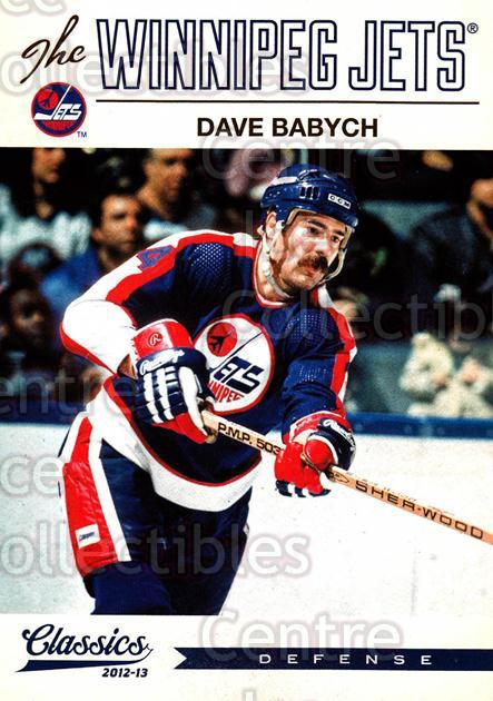 2012-13 Classics Signatures #146 Dave Babych<br/>4 In Stock - $2.00 each - <a href=https://centericecollectibles.foxycart.com/cart?name=2012-13%20Classics%20Signatures%20%23146%20Dave%20Babych...&quantity_max=4&price=$2.00&code=654526 class=foxycart> Buy it now! </a>
