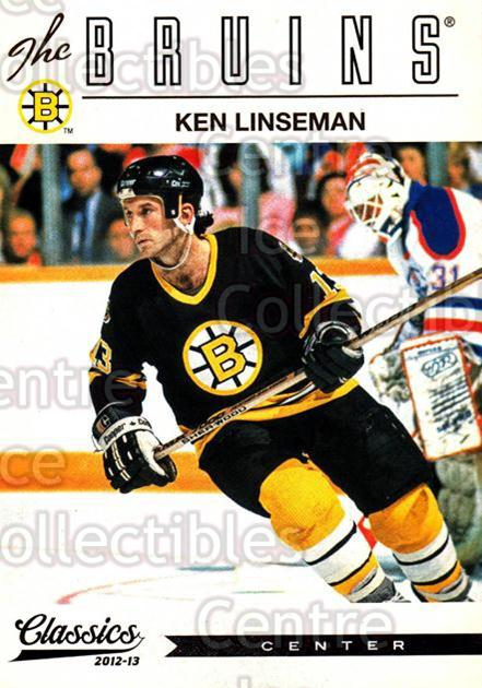 2012-13 Classics Signatures #162 Ken Linseman<br/>2 In Stock - $2.00 each - <a href=https://centericecollectibles.foxycart.com/cart?name=2012-13%20Classics%20Signatures%20%23162%20Ken%20Linseman...&quantity_max=2&price=$2.00&code=654542 class=foxycart> Buy it now! </a>