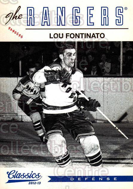 2012-13 Classics Signatures #185 Lou Fontinato<br/>2 In Stock - $2.00 each - <a href=https://centericecollectibles.foxycart.com/cart?name=2012-13%20Classics%20Signatures%20%23185%20Lou%20Fontinato...&quantity_max=2&price=$2.00&code=654565 class=foxycart> Buy it now! </a>