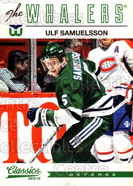 2012-13 Classics Signatures #194 Ulf Samuelsson<br/>2 In Stock - $2.00 each - <a href=https://centericecollectibles.foxycart.com/cart?name=2012-13%20Classics%20Signatures%20%23194%20Ulf%20Samuelsson...&quantity_max=2&price=$2.00&code=654574 class=foxycart> Buy it now! </a>