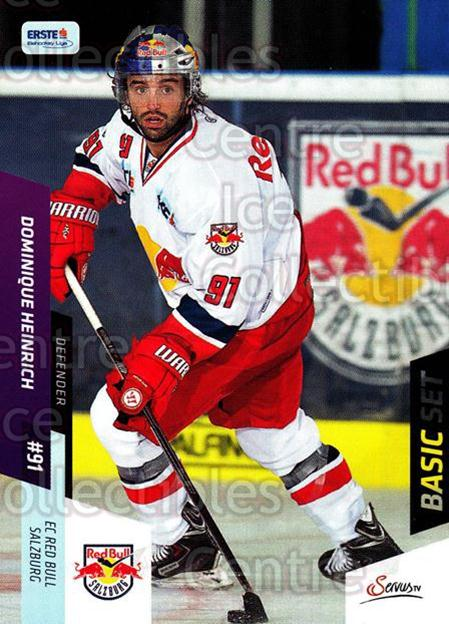 2014-15 Erste Bank Eishockey Liga EBEL Basic #27 Dominique Heinrich<br/>4 In Stock - $2.00 each - <a href=https://centericecollectibles.foxycart.com/cart?name=2014-15%20Erste%20Bank%20Eishockey%20Liga%20EBEL%20Basic%20%2327%20Dominique%20Heinr...&quantity_max=4&price=$2.00&code=654607 class=foxycart> Buy it now! </a>