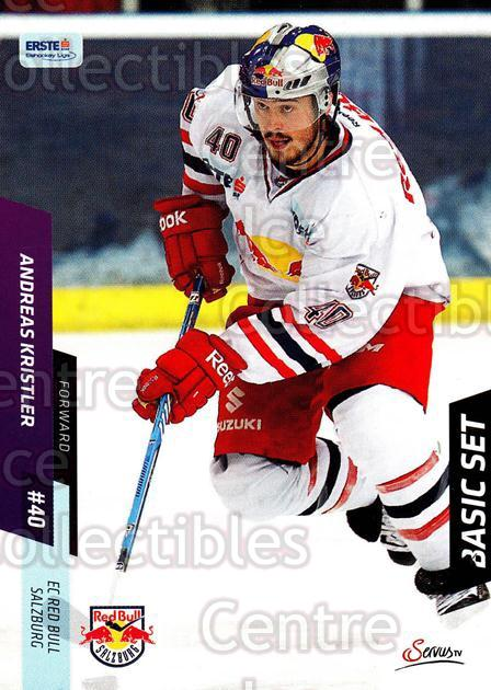 2014-15 Erste Bank Eishockey Liga EBEL Basic #38 Andreas Kristler<br/>4 In Stock - $2.00 each - <a href=https://centericecollectibles.foxycart.com/cart?name=2014-15%20Erste%20Bank%20Eishockey%20Liga%20EBEL%20Basic%20%2338%20Andreas%20Kristle...&quantity_max=4&price=$2.00&code=654618 class=foxycart> Buy it now! </a>