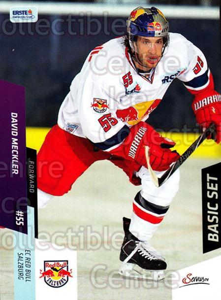 2014-15 Erste Bank Eishockey Liga EBEL Basic #41 David Meckler<br/>3 In Stock - $2.00 each - <a href=https://centericecollectibles.foxycart.com/cart?name=2014-15%20Erste%20Bank%20Eishockey%20Liga%20EBEL%20Basic%20%2341%20David%20Meckler...&quantity_max=3&price=$2.00&code=654621 class=foxycart> Buy it now! </a>