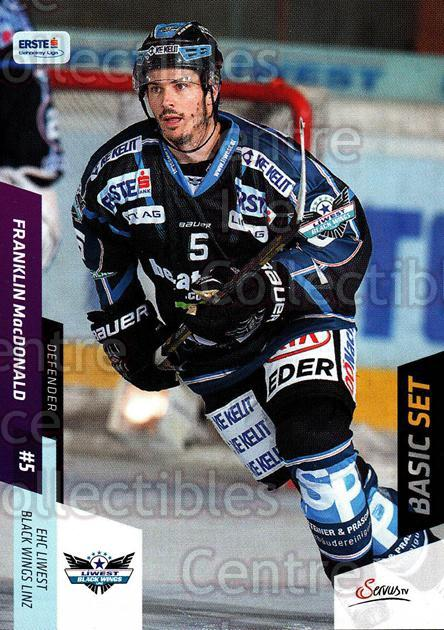 2014-15 Erste Bank Eishockey Liga EBEL Basic #76 Franklin MacDonald<br/>3 In Stock - $2.00 each - <a href=https://centericecollectibles.foxycart.com/cart?name=2014-15%20Erste%20Bank%20Eishockey%20Liga%20EBEL%20Basic%20%2376%20Franklin%20MacDon...&quantity_max=3&price=$2.00&code=654656 class=foxycart> Buy it now! </a>