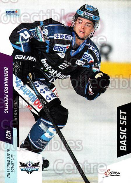 2014-15 Erste Bank Eishockey Liga EBEL Basic #79 Bernhard Fechtig<br/>4 In Stock - $2.00 each - <a href=https://centericecollectibles.foxycart.com/cart?name=2014-15%20Erste%20Bank%20Eishockey%20Liga%20EBEL%20Basic%20%2379%20Bernhard%20Fechti...&quantity_max=4&price=$2.00&code=654659 class=foxycart> Buy it now! </a>