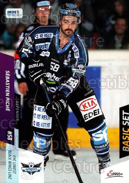 2014-15 Erste Bank Eishockey Liga EBEL Basic #82 Sebastian Piche<br/>3 In Stock - $2.00 each - <a href=https://centericecollectibles.foxycart.com/cart?name=2014-15%20Erste%20Bank%20Eishockey%20Liga%20EBEL%20Basic%20%2382%20Sebastian%20Piche...&quantity_max=3&price=$2.00&code=654662 class=foxycart> Buy it now! </a>