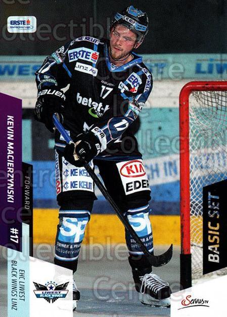 2014-15 Erste Bank Eishockey Liga EBEL Basic #88 Kevin Macierzynski<br/>4 In Stock - $2.00 each - <a href=https://centericecollectibles.foxycart.com/cart?name=2014-15%20Erste%20Bank%20Eishockey%20Liga%20EBEL%20Basic%20%2388%20Kevin%20Macierzyn...&quantity_max=4&price=$2.00&code=654668 class=foxycart> Buy it now! </a>