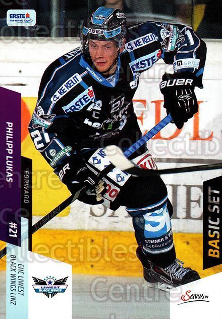 2014-15 Erste Bank Eishockey Liga EBEL Basic #91 Philipp Lukas<br/>4 In Stock - $2.00 each - <a href=https://centericecollectibles.foxycart.com/cart?name=2014-15%20Erste%20Bank%20Eishockey%20Liga%20EBEL%20Basic%20%2391%20Philipp%20Lukas...&quantity_max=4&price=$2.00&code=654671 class=foxycart> Buy it now! </a>