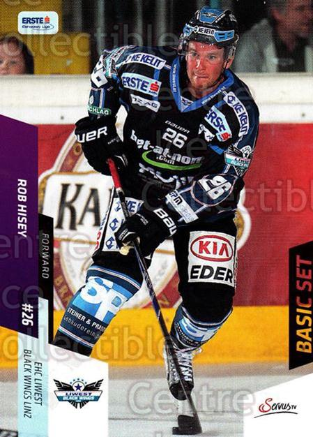 2014-15 Erste Bank Eishockey Liga EBEL Basic #93 Rob Hisey<br/>4 In Stock - $2.00 each - <a href=https://centericecollectibles.foxycart.com/cart?name=2014-15%20Erste%20Bank%20Eishockey%20Liga%20EBEL%20Basic%20%2393%20Rob%20Hisey...&quantity_max=4&price=$2.00&code=654673 class=foxycart> Buy it now! </a>