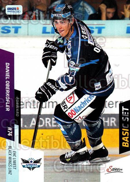 2014-15 Erste Bank Eishockey Liga EBEL Basic #96 Daniel Oberkofler<br/>4 In Stock - $2.00 each - <a href=https://centericecollectibles.foxycart.com/cart?name=2014-15%20Erste%20Bank%20Eishockey%20Liga%20EBEL%20Basic%20%2396%20Daniel%20Oberkofl...&quantity_max=4&price=$2.00&code=654676 class=foxycart> Buy it now! </a>