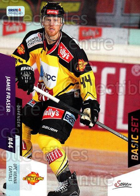 2014-15 Erste Bank Eishockey Liga EBEL Basic #99 Jamie Fraser<br/>4 In Stock - $2.00 each - <a href=https://centericecollectibles.foxycart.com/cart?name=2014-15%20Erste%20Bank%20Eishockey%20Liga%20EBEL%20Basic%20%2399%20Jamie%20Fraser...&quantity_max=4&price=$2.00&code=654679 class=foxycart> Buy it now! </a>